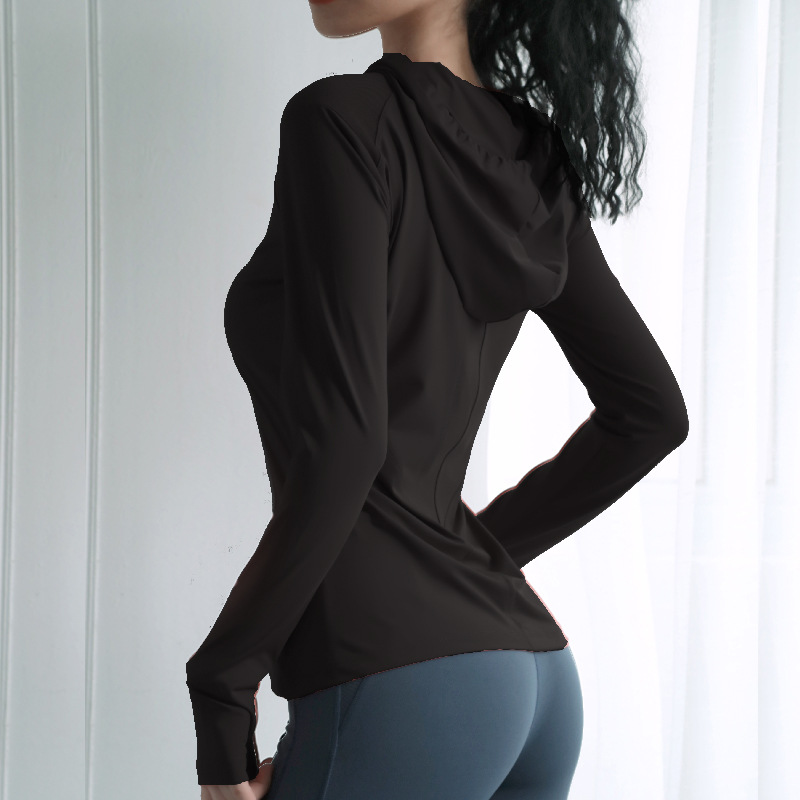 Hooded Sports Top for Women Womens Clothing Hoodies