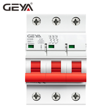 цена на Free Shipping Electrical Breakers 3P MCB 6A 10A 16A 20A 25A 32A 40A 50A 63A 220V Mini Circuit Breaker GEYA Disjuntor