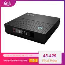 VORKE Z6 בתוספת אנדרואיד 7.1.2 חכם טלוויזיה תיבת Amlogic S912 3GB DDR3 32GB eMMC 4K טלוויזיה תיבה 5.0 AC WIFI 1000M Bluetooth 4.1