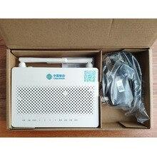 משלוח חינם 40pcs/קרטון 100% origina HS8545M5 GPON ONU ONT 1GE + 3FE + 1TEL + Usb + wifi