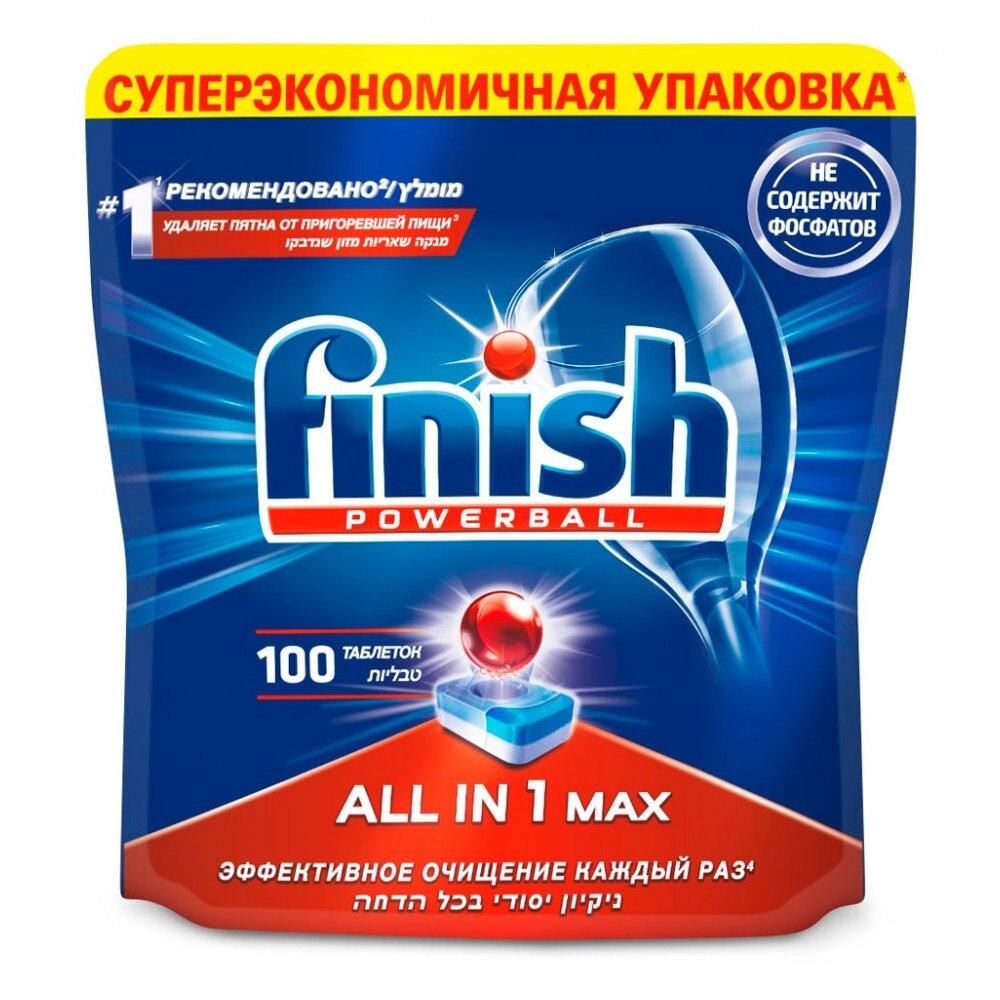 лучшая цена Home & Garden Household Merchandises Household Cleaning Chemicals Dishwasher Cleaner FINISH 433288