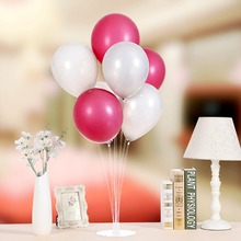 Latex Balloon Stick Birthday Balloons Accessories Happy Party Decoration Kids Holder Wedding Decors