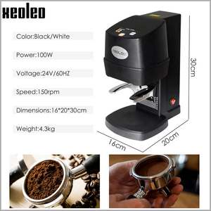 Image 4 - XEOLEO Electric Espresso coffee tamper automatic Flat Plated Base Press Coffee Grinder Coffee Bean Press Tools Coffee Accessorie