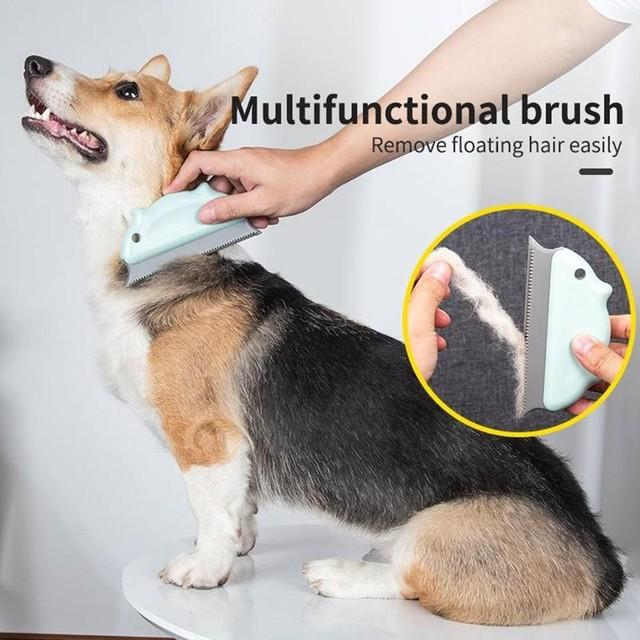 Multifunctional Pet Hair Remover Brush Dust Removal  4