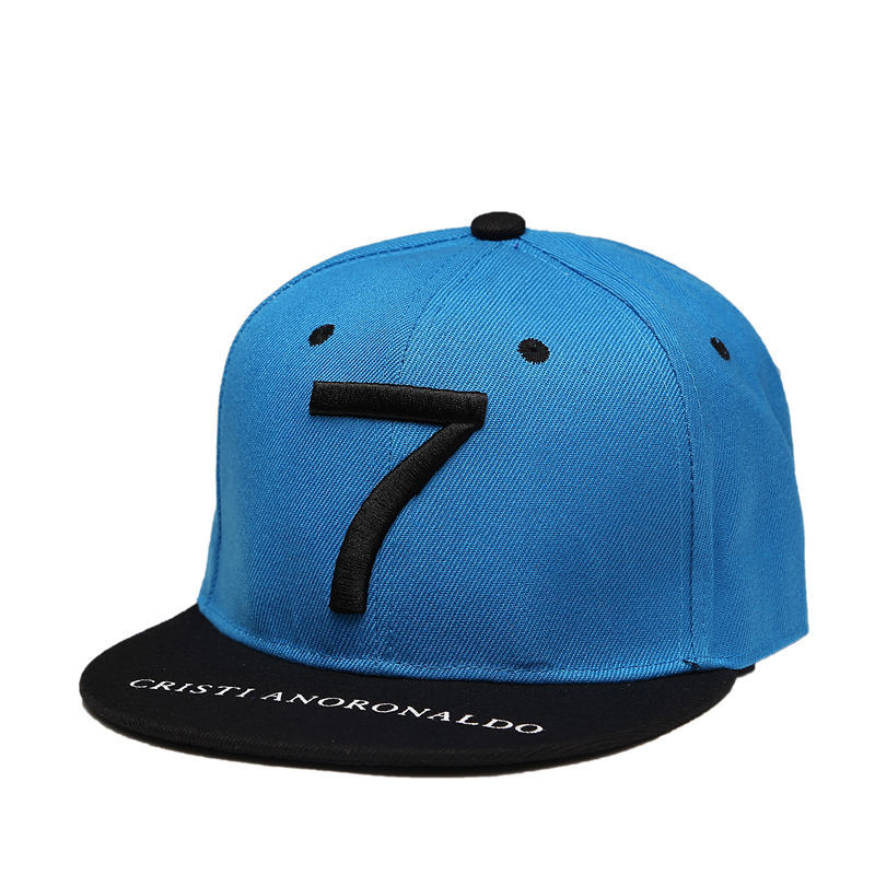 New Fashion Cristiano Ronaldo CR7 Baseball Caps Hip Hop Sports Snapback Football Hat Embroidery Bone Men Women Coupie Hats 4