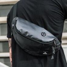 Men's Waist Bag Messenger Bag Multi-Function Large Capacity Sports Running Mobile Phone Waist Bag Slingshot Bag Shoulder Chest