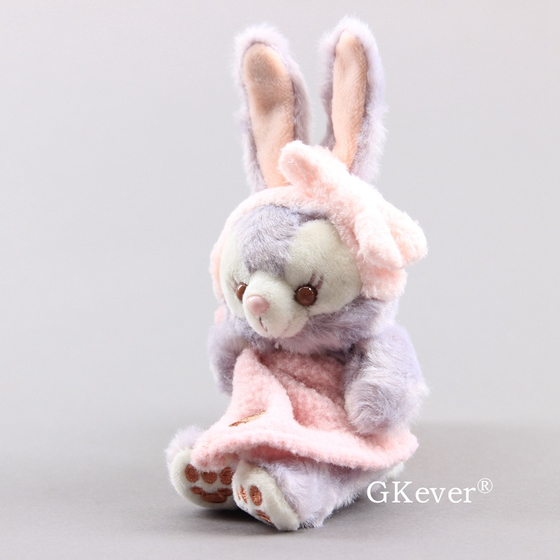 12 см мультфильм Stellalou кролик каваи брелок кулон Милый милый кролик мягкие куклы для сумки дети девочка подарок на день рождения