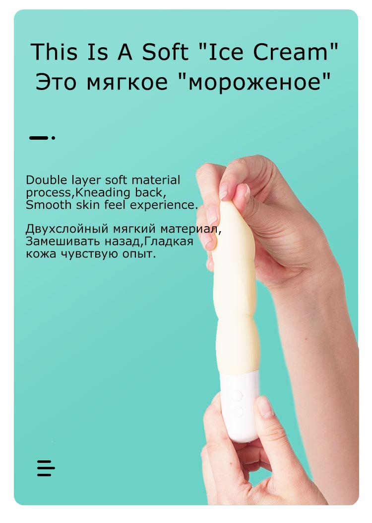 H1f1b1e4ef034456a8026cb99ef6cf4cfM - Durex Play 08 Soft Dildo Ice Cream Vibrator ดิลโด้สั่นกันน้ำ แท่งสั่นแบบนุ่ม ดุ้นนวดสำเร็จความใคร่ ผลิตภัณฑ์ทางเพศ  <ul>  <li>ผิวเรียบสัมผัสนิ่ม</li>  <li>สั่นนุ่ม 3ทรงกลม มอบประสบการณ์ดีกว่า</li>  <li>วัสดุซิลิโคนทางการแพทย์ปลอดภัย</li>  <li>กันน้ำ IPX7 ใช้ในอ่างอาบน้ำได้</li>  <li>สั่นเสียงน้อยกว่า 60dBA</li>  <li>สามารถชาร์จได้ สายแบบแม่เหล็ก</li> </ul>
