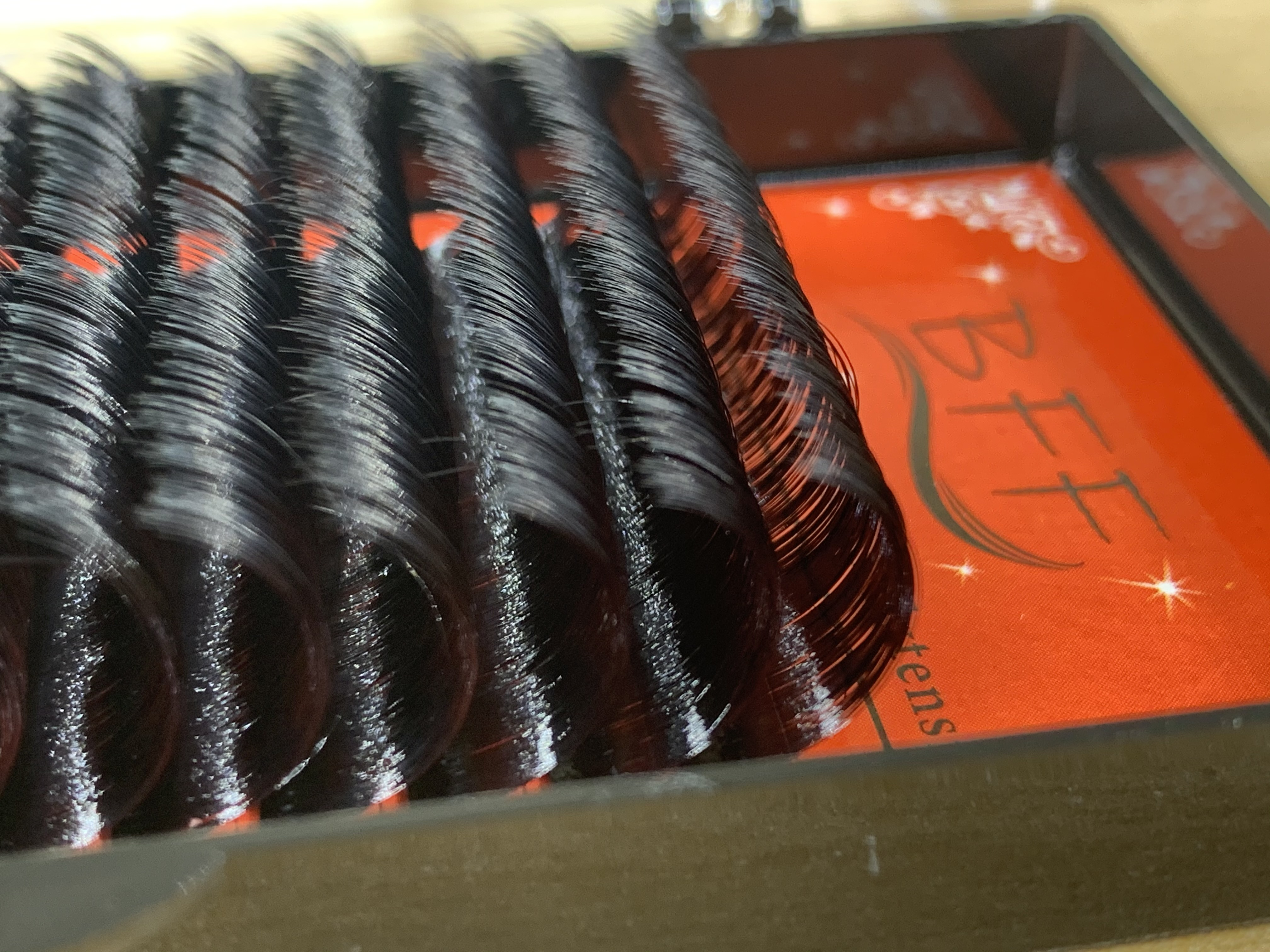 Extensão de cílios bff 0.07/0.05 17 18 19 20mm tamanho mais longo sintético vison maquiagem falso cílios postiços individual