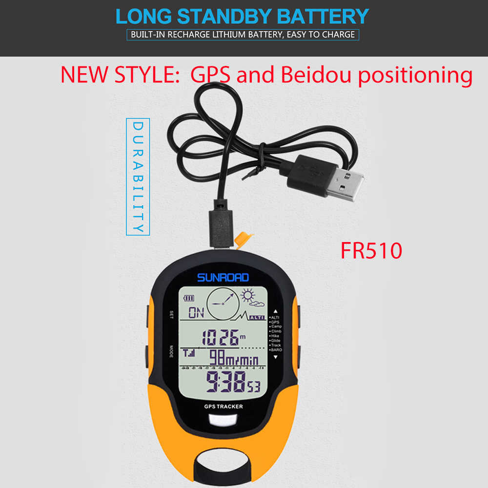 8 in 1 Portable Multifunction Digital Weather Altimeter Compass Barometer Thermometer with LCD Backlight for Outdoor Hiking Camping