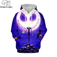 PLstar Cosmos nightmare before christmas jack skellington 3d hoodies/shirt/Sweatshirt Winter Christmas Halloween streetwear-11