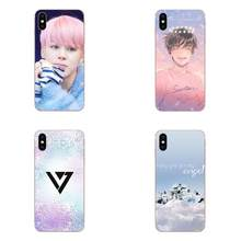 Kpop Seventeen Logo Silicone Skin Case For LG G3 G4 G5 G6 G7 K4 K7 K8 K10 K40 K50 Q6 Q60 V10 V20 V30 V40 Nexus 5 5X 2017(China)