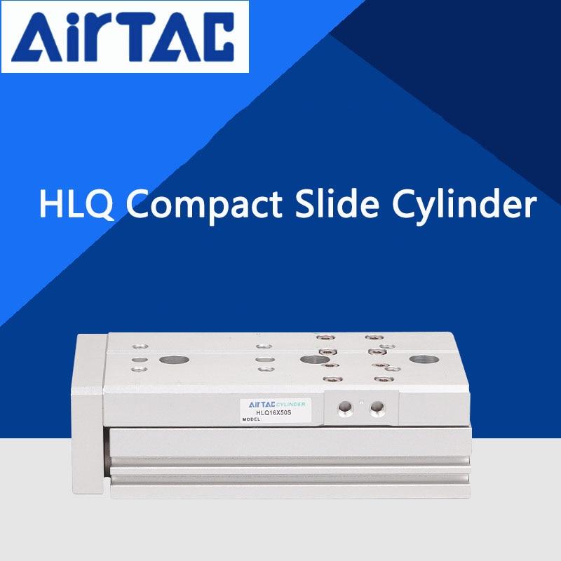 HLQ Series HLQ25x10S HLQ25x20S HLQ25x30S  HLQ25x40S AIRTAC Table Slide Cylinder HLQ25*10S HLQ25*20S HLQ25*30S HLQ25*40S