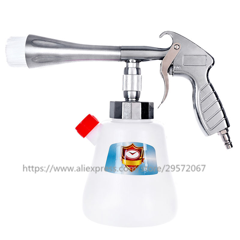 Image 5 - Z 010 Z 020 Steel Tornador Interior Deep Cleaning Gun For Cockpit Care Cars Air Opearted Car Wash Steel Equipment Tornado Gun-in Spray Guns from Tools on