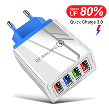 USB Charger Quick Charge 3.0 for Xiaomi Mi Note 10 Pro iPhone Tablet Portable EU