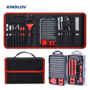 KINDLOV Screwdriver Set Magnetic Phillips Torx Bits Precision Screwdriver Bit Set 135 In 1 Repair Hand Tool Kit For Mobile Phone(China)
