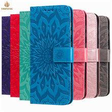 Luxo em relevo caso da aleta de couro para samaung a10 a20e a30 a40 a50s a41 a51 a70 a81 a51 a71 carteira slot para cartão suporte capa