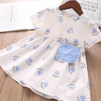 5P143Rainbow Ruffles Tutu Sleeveless Princess Baby Girl Dress Summer Party Wedding Kid Dress For Girl Wholesale Child Clothes