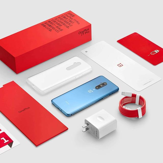 Global ROM OnePlus 7T Pro 8GB 256GB Snapdragon 855 Plus SmartPhone 6.67'' Fluid AMOLED 90Hz Screen 48MP Camera 4085mA UFS 3.0 5