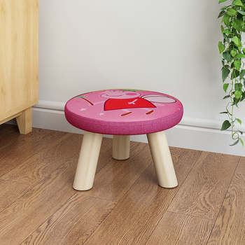 Small stool solid wood home small chair in fashion shoes stool adult sofa low chair stool small wooden bench