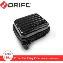 DRIFT Action Sports Camera Accessories Protective Storage Travelling Bag Carry Case for Ghost-4K/S Stealth gopro yi xiaomi cam(China)