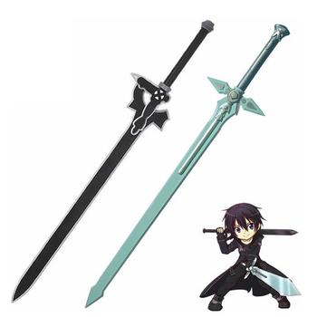 80CM czarny miecz i biały miecz Role Playing broń projekty dzieci animacja broń zabawka miecz Model tanie i dobre opinie RUBBER Kategoria miecz broń 6 lat Unisex Semi-hand and semi-mechanical The sword