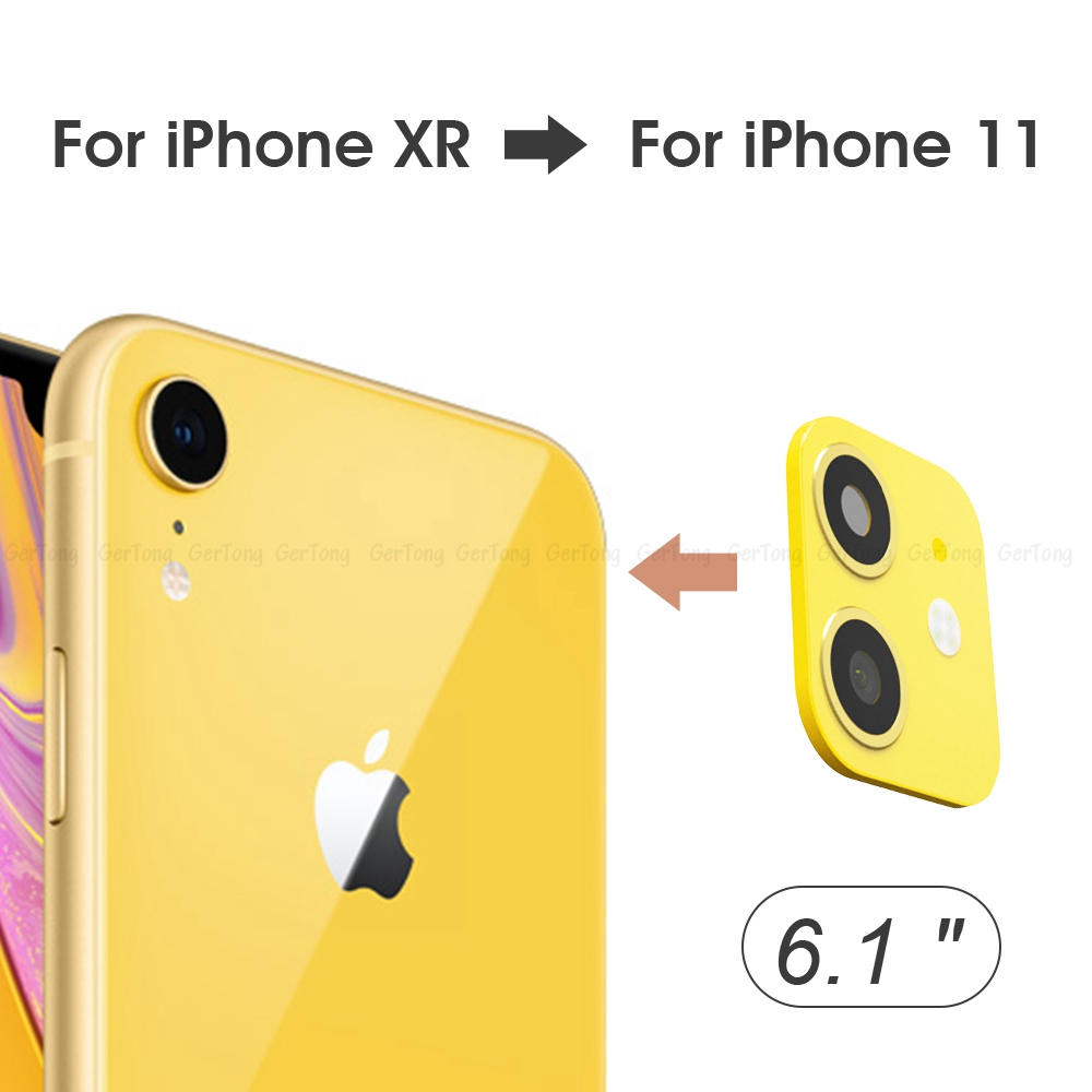 H1f1d34e559b0496fa95bf2d3c5a01f5c2 - 3D Alumium Camera Lens Seconds Change for iPhone 11 Pro Max Lens Ring Cover Sticker For iPhone X R XS MAX Rear Protective Cover