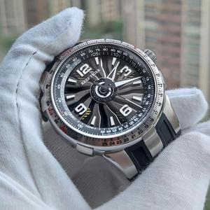 Image 3 - 新しいリーフ虎/rt軍は男性鋼腕時計ラバーストラップ旋回ダイヤルRGA3059