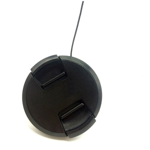 Image 4 - 10pcs/lot High quality 40.5 49 52 55 58 62 67 72 77 82mm center pinch Snap on cap cover for SONY camera Lens