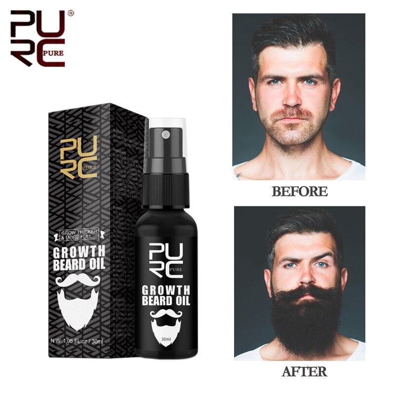 11.11 PURC Beard Growth Oil for Men Beard Growth Grooming&Trimming Mustaches Moisturized Growth Main