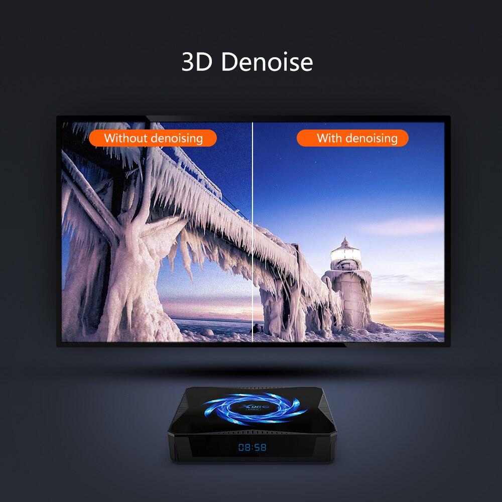 X96Q MAX Smart TV Box Android 10 6K Bluetooth 5.0 2.4G 5G double wifi  Google Assistant vocal lecteur 4K Youtube Media TVBOX X96 BOX