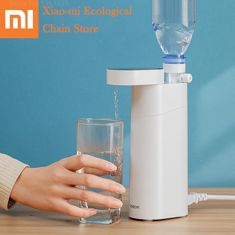 Xiaomi Portable Water Dispenser Pump Electric Water Heater Bottle Drinking Switch Pumping Device Touch Smart Temperature Control