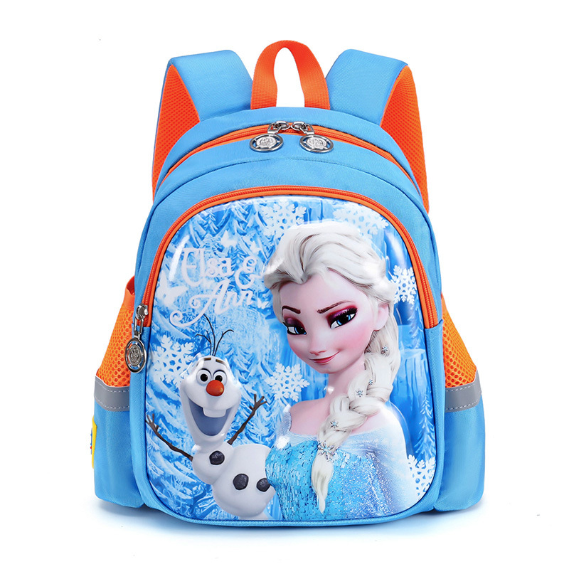 Kids Backpack 3D Anna Elsa Children School Bags Plush Toys Bag Girls Cartoon Snow Queen Backpack Kids Fashion Schoolbag In Stock