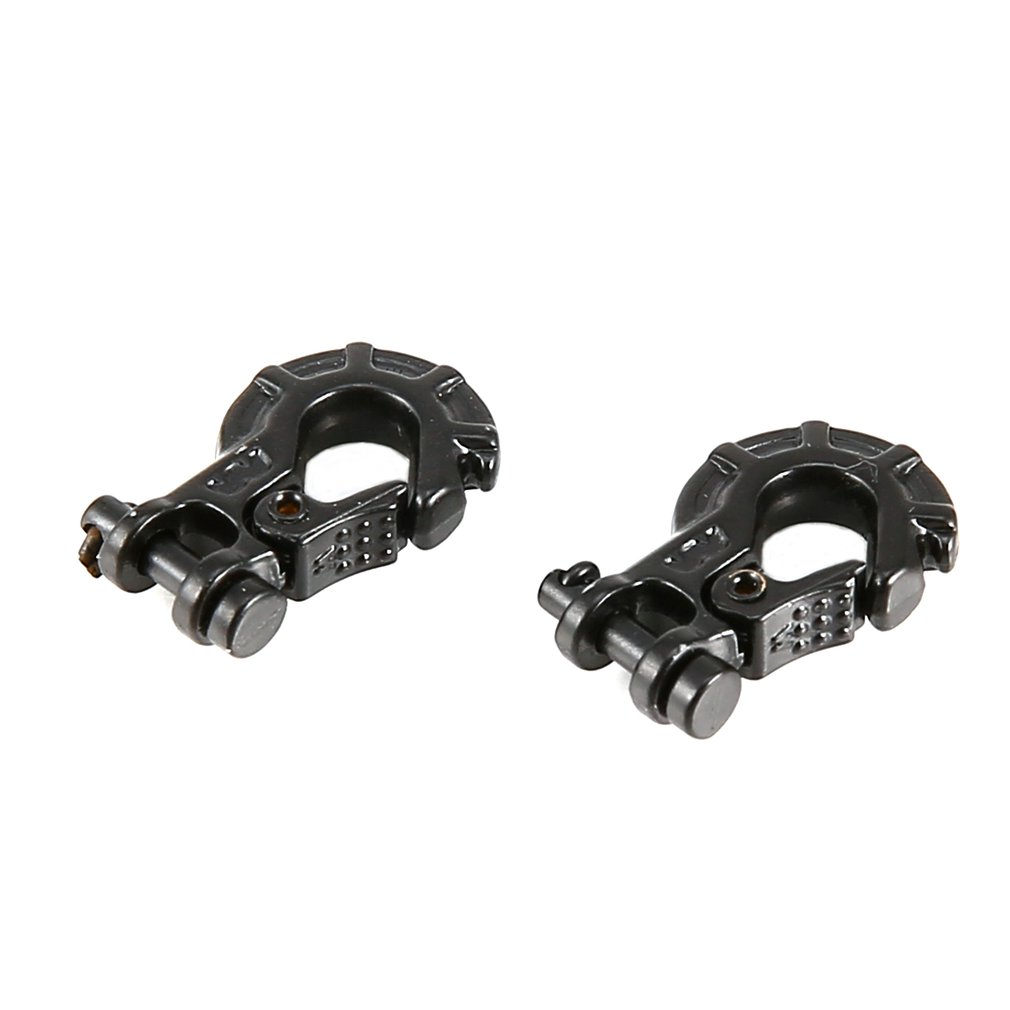 2pcs Metal Premium Trailer RC Winch Hook for 1/10 RC4WD Warn RC Car Truck Crawler Off-road Spare Part <font><b>Accessories</b></font> image