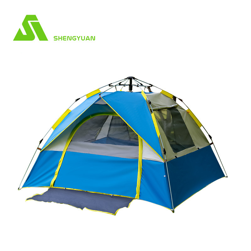Outdoor Camping Tent  Pop Up 3 Person Ultralight Tents