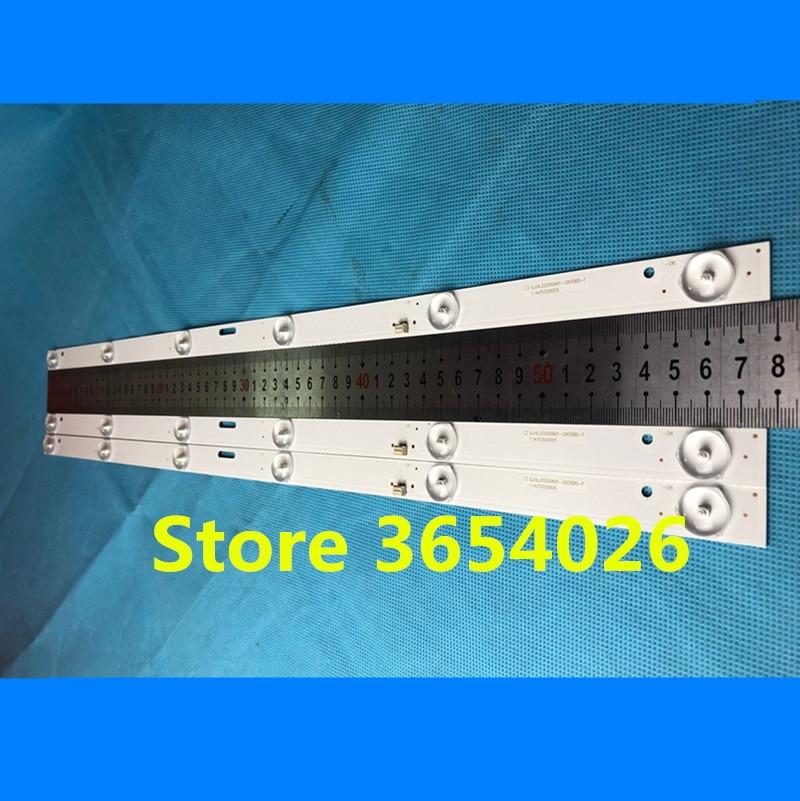 1set=3pieces For  Led Backlight For 32inch Strip LE-8822A SJ.HL.D3200601-2835BS-F 6v 6lamp