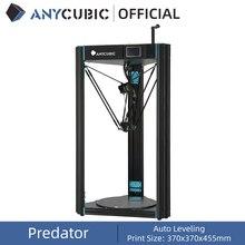 ANYCUBIC impresora 3D Predator, 370x370x455mm, con nivelación automática, DIY