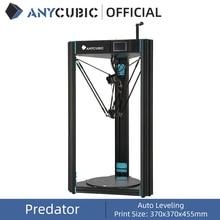 Anycubique prédateur bricolage 3D imprimante 370x370x455mm avec nivellement automatique bricolage 3D imprimante Kit impresora 3D impression Titan extrudeuse