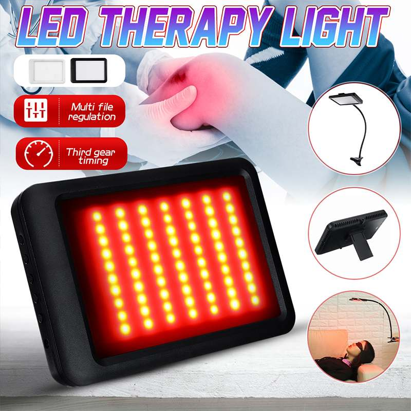 USB LED Therapy Pad Light Therapy Light Timing 630nm-660nm Deep Penetration For Pain Relief Safe Aids Healing Circulation