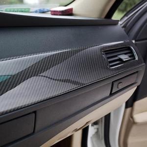 Глянцевая черная 5D виниловая пленка для стайлинга автомобиля, автомобильная пленка, сделай сам, тюнинг автомобиля, наклейка