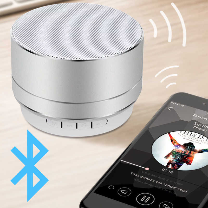 BYINTEK Altavoz Bluetooth 3W 300mAh para proyector con sistema Android Smart OVNI P10 P12 BT96plus