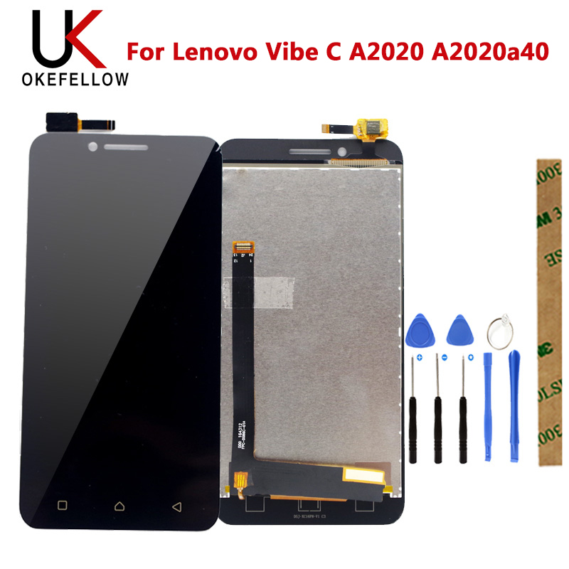LCD For Lenovo Vibe C A2020 A2020a40 LCD Display Screen With Touch Screen Assembly