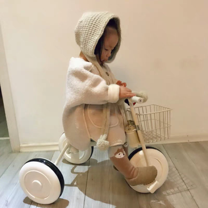 Printed Children's Tricycle Baby Car 1-3-5 Years Baby Car Baby Car Light Bicycle Toddler Bed