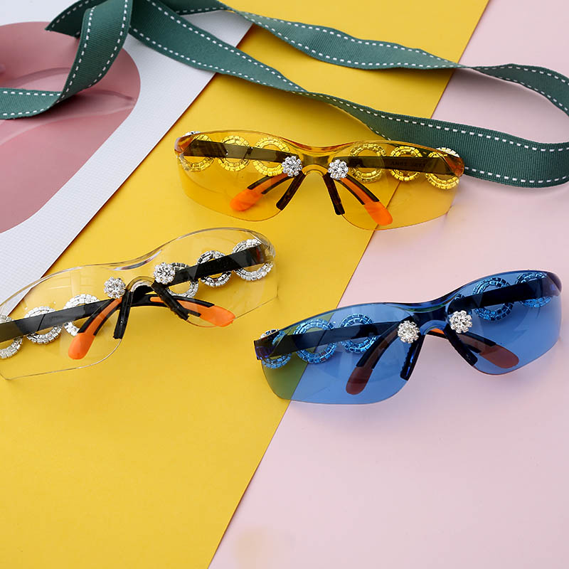 Unisex Crystral Sunglasses
