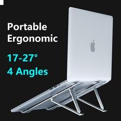 X Style 4 kąty regulowany składany aluminiowy stojak na laptopa pulpit uchwyt na notebooka stojak na biurko na 7-15 calowy Macbook Pro Air
