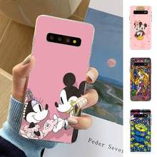 Motirunner Pooh Sprookje Stained Alice Mickey Mouse Soft Phone Cover Samsung S10 S10lite S9 S9plus S8 S7 S6 S6edge(China)