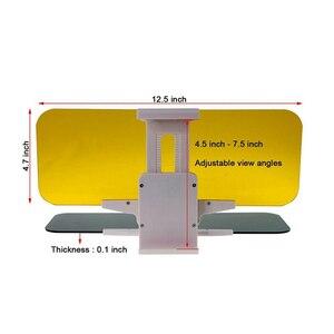 Image 5 - Auto Visiera Blocco di Protezione Della Luce di Giorno E di Notte a Doppio Uso Della Visiera di Sun Regolabile Pratica VS998