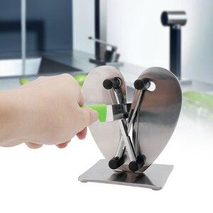 Image 5 - Bıçak kalemtıraş profesyonel mutfak bileme taşı değirmeni bıçaklar Whetstone Tungsten elmas seramik kalemtıraş aracı