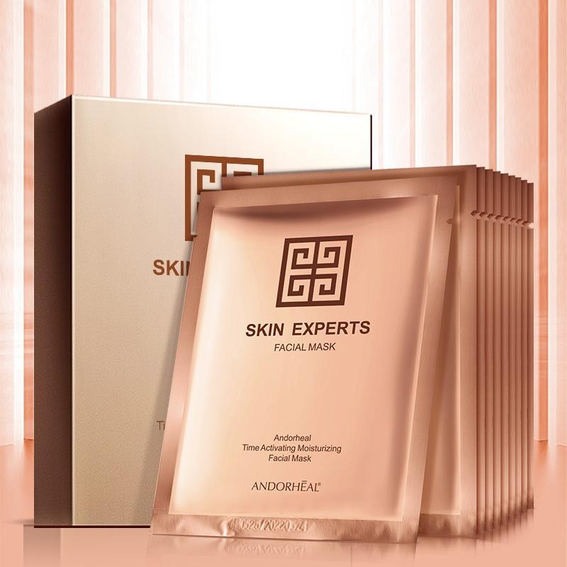 Anti-aging Face Mask Plant Extracts Sheet Mask Moisturizing Facial Mask Whitening Skin Care