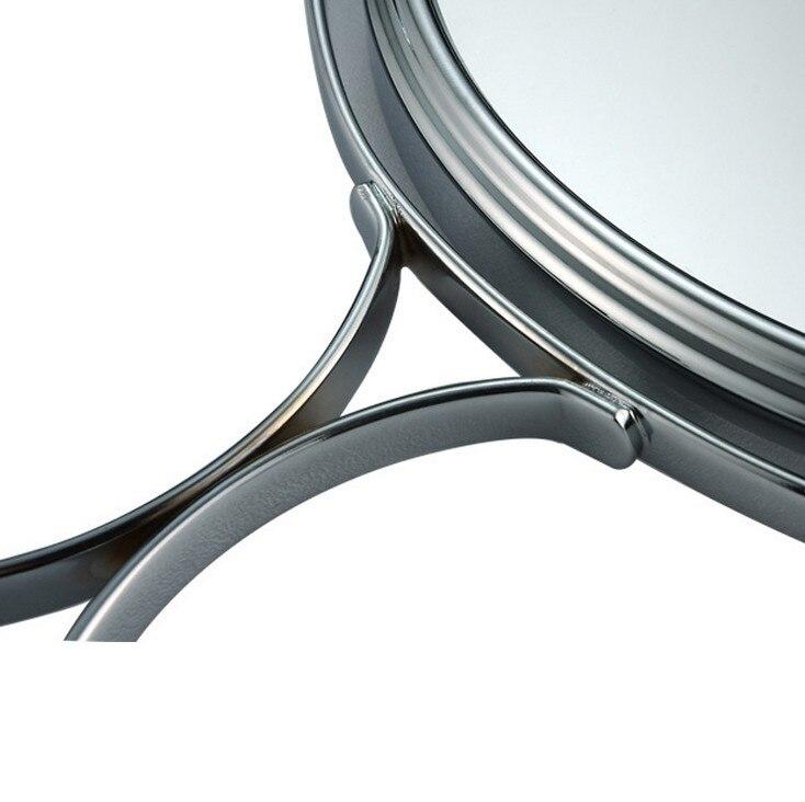 7.5 Polegada desktop espelho de maquiagem 2-face
